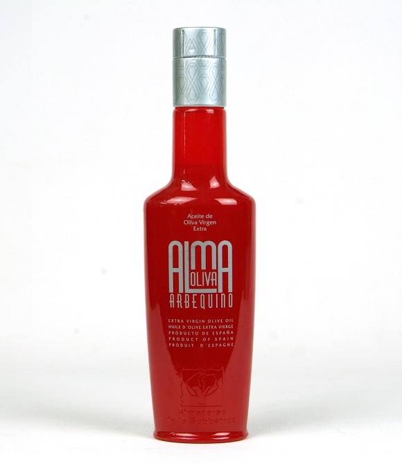 Almaoliva Arbequina - Botella vidrio 250 ml.