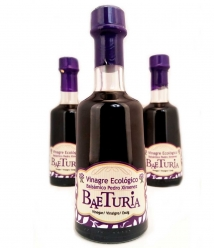 Organic Vinegar Pedro Ximenez Balsamic Baeturia - glass bottle 250ml