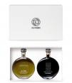 L'Oli Ferrer Essence Organic Early Harvest and Organic Balsamic Vinegar of PX - 100ml glass bottles in case
