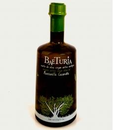 huile d'olive baeturia manzanilla cacereña bouteille en verre 500 ml