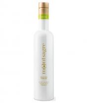 huile d'olive montsagre selección familiar empeltre bouteille en verre 500 ml
