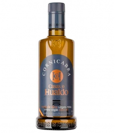 olivenöl casas de hualdo cornicabra glasflasche 500 ml