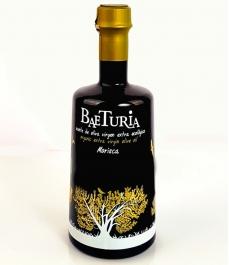 huile d'olive Baeturia Morisca bouteille en verre de 500ml