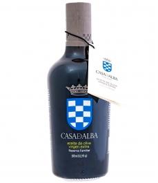 huile d'olive casa de alba reserva familiar bouteille en verre de 500ml