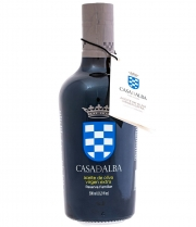 aceite de oliva casa de alba reserva familiar botella de vidrio de 500ml
