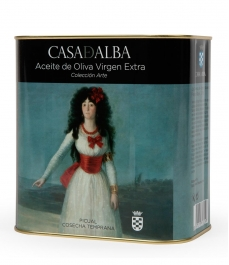 aceite de oliva casa de alba aove colección arte la duquesa de goya lata de 2,5l