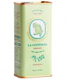 huile d'olive la cultivada arbequina boîte de 500ml