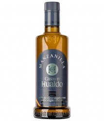 Casas de Hualdo Manzanilla de 500 ml. - Botella vidrio 500 ml.