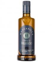 aceite de oliva casas de hualdo manzanilla botella de vidrio de 500ml