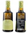 aceite de arbequina molinos de la calzada botella de aceite 500ml botella por delante y por detras