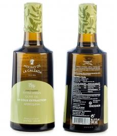 arbequina -Öl molinos de la calzada Ölflasche 500ml