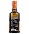 aceite oliva molino de la calzada picual arbequina y lucio botella de aceite de 500ml etiqueta trasera
