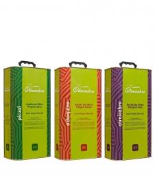 aceite de oliva aceituna arbequina olimendros en lata de 5l