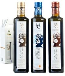 Molino de la Calzada - Coffret de 3 bouteilles de 500 ml.