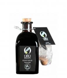 Oro Bailén Reserva Familiar Picual - Quadratische glasflasche 250 ml.