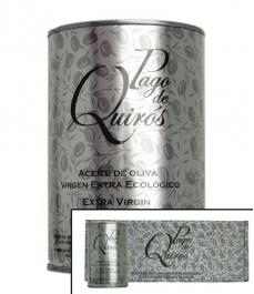 Pago de Quirós - Estuche de 4 latas de 50 cl.