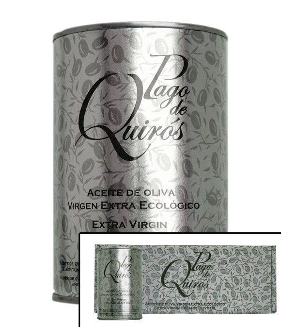 Pago de Quirós - Estuche de 4 latas de 500 ml.