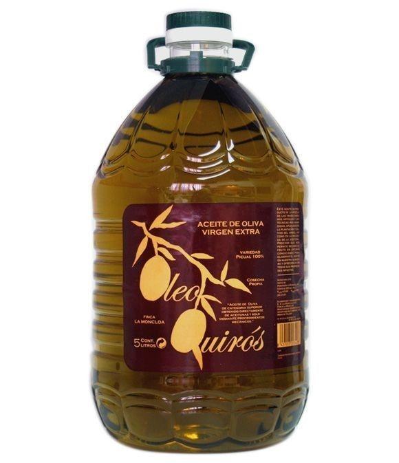 Oleo Quirós Picual - garrafa pet 5 l.