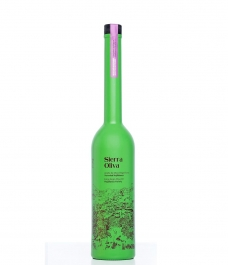 Sierra Oliva Hojiblanca de 500 ml - botella vidrio 500 ml