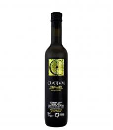 aceite de oliva cladium variedad hojiblanca botella negra de vidrio de 500 ml