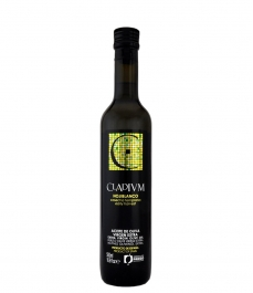 cladium variété huile d'olive hojiblanca hojiblanca noir bouteille en verre 500 ml