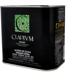 aceite de oliva cladium picudo lata 2l