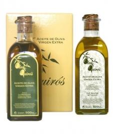 Oleo Quirós - Picual - estuche cartón 2 frascas 50 cl.