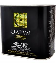 aceite de oliva cladium hojiblanco lata 2l