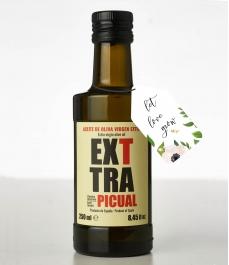 Exttra Picual Cosecha Temprana Personalizada de 250 ml - Botella Vidrio 250 ml.