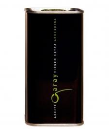 Aceite de oliva marca cortijo garay oliva arbequina de 250 ml en lata