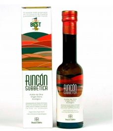 olive oil rincón de la subbética glass bottle 250ml back