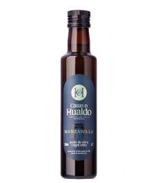 olive oil casas de hualdo manzanilla glass bottle 250ml