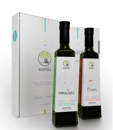 Estuche Martita Pícara e Inmadura de 500 ml. - Botella de vidrio 500 ml.