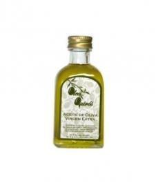 Oleo Quirós - Picual - miniatura vidrio 50 ml.