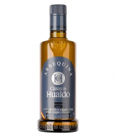 Casas de Hualdo Arbequina 500 ml. - Botella vidrio 500 ml.