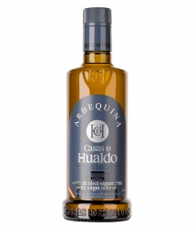 Casas de Hualdo Arbequina - Glass bottle 500 ml.