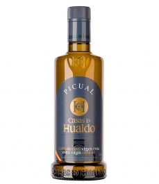 Casas de Hualdo Picual - Botella vidrio 500 ml.