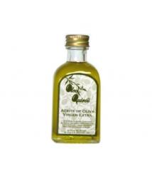 Oleo Quirós - Arbequina - miniatura vidrio 50 ml.