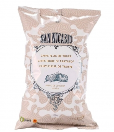 San Nicasio Potato Chips Truffle Flower 150G - Bag 150 g.