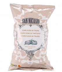 Patatas Fritas San Nicasio Flor de Trufa de 150 gr. - Bolsa 150 g.
