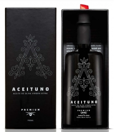 Aceituno 500 ml with case - Glass bottle 500 ml.