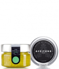 Aceituno picual EXTRA VIRGIN OLIVE OIL PEARLS - 50 gr. glass jar