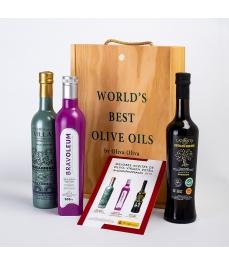 3 Beste Öle Spaniens 2019 in Gourmet-Geschenkbox - Die am meisten belohnten Öle zum Verschenken