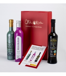 3 Best Oils of Spain 2019 in a Premium gift box - The most awarded oils to give away