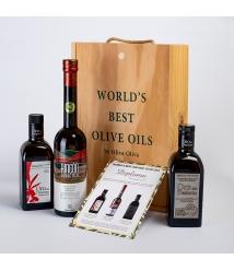 3 Mejores Aceites Ecológicos del Mundo 2019 en estuche regalo Premium - Los aceites más premiados para regalar