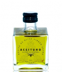 Aceituno of 100 ml - Square glass bottle 100 ml