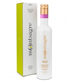 Montsagre Empeltre en estuche- Botella vidrio 500 ml.