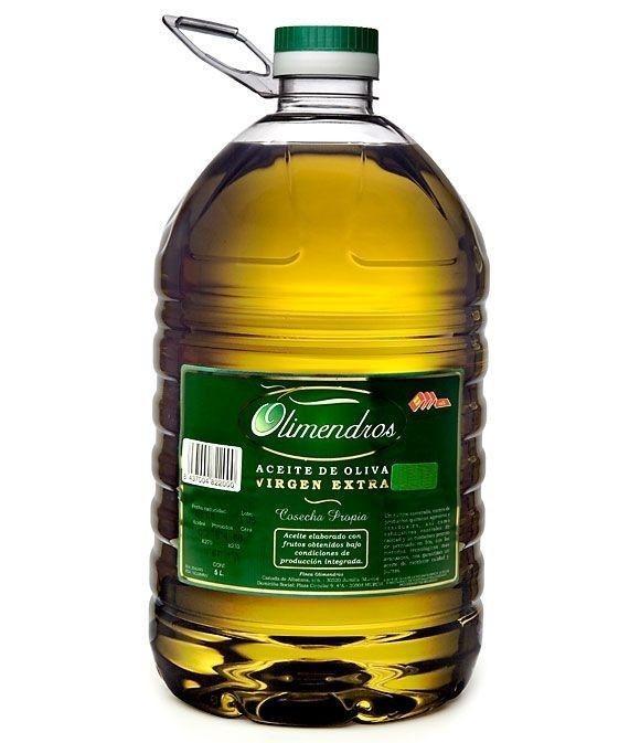 Olimendros Cuquillo - botella pet 5 l.