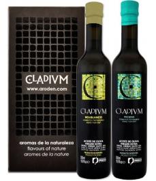 Cladium Hojiblanco y Picudo en estuche de 500 ml - 2 botellas de vidrio 500 ml..
