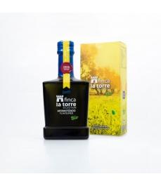 Finca La Torre aromatizierte Zitrone 250 ml - Glasflasche 250 ml.